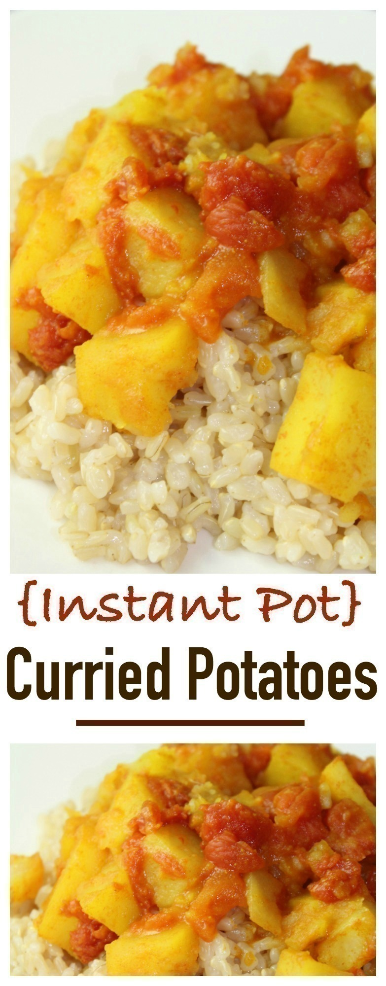 Instant Pot Curried Potatoes