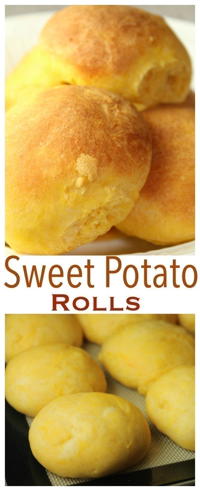 These sweet potato rolls are light & fluffy - and will be a staple at your next holiday dinner!