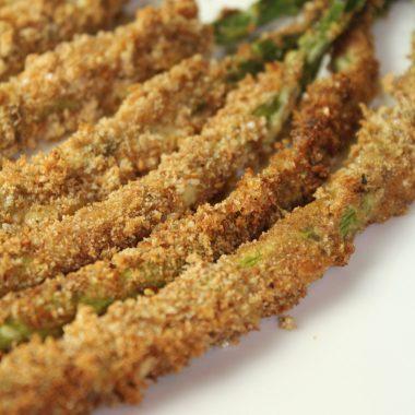 Panko Roasted Asparagus Recipe