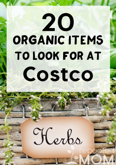 20 Organic Items to Look for at Costco