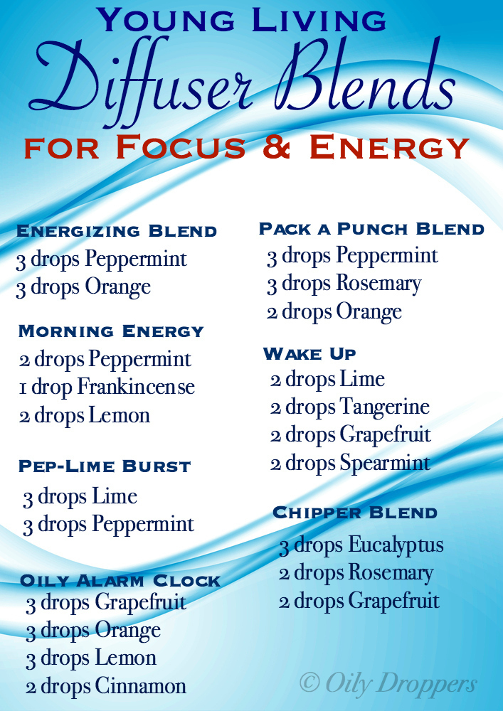 Diffuser Blends For Focus Amp Energy