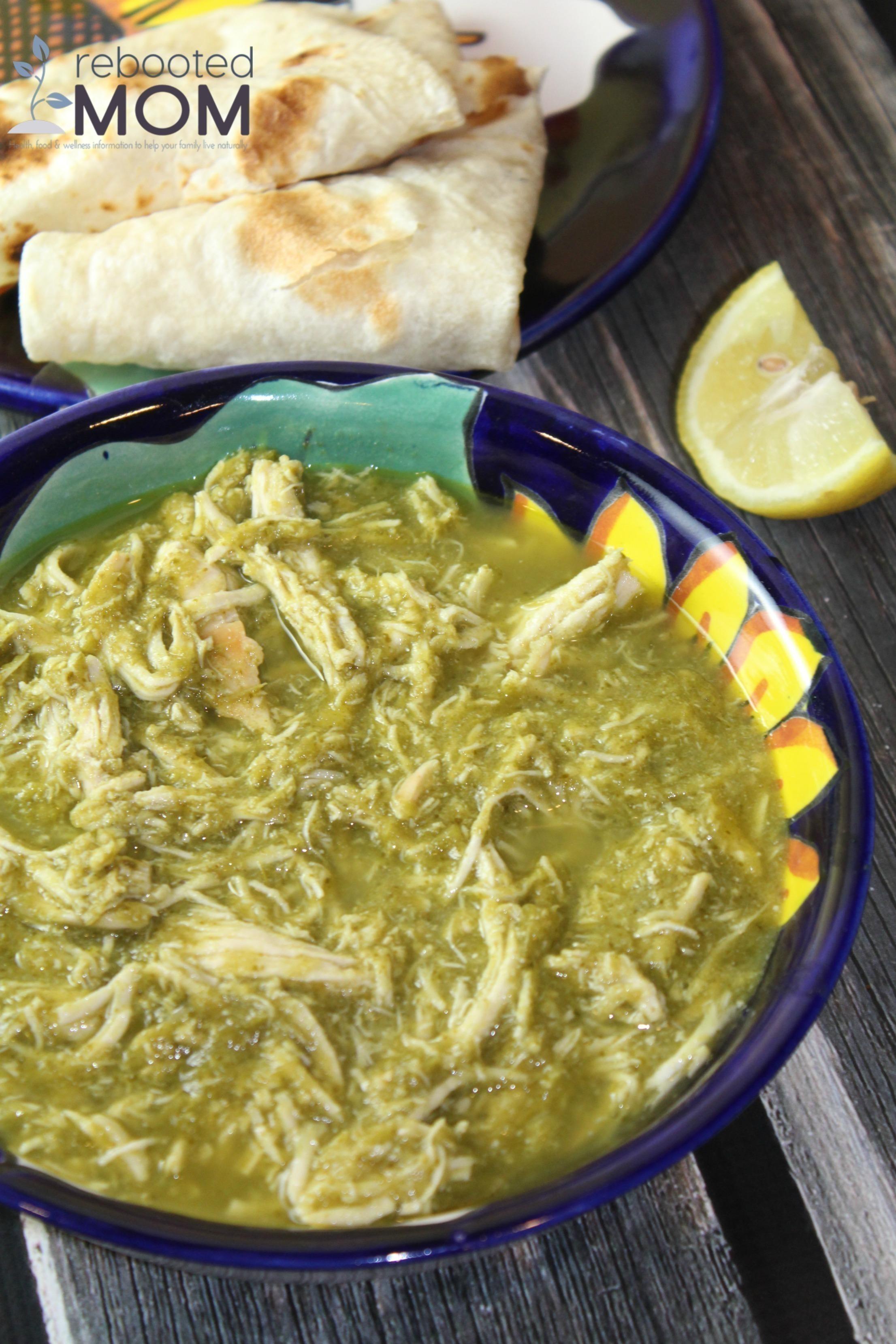 30 Minute Chicken Chile Verde