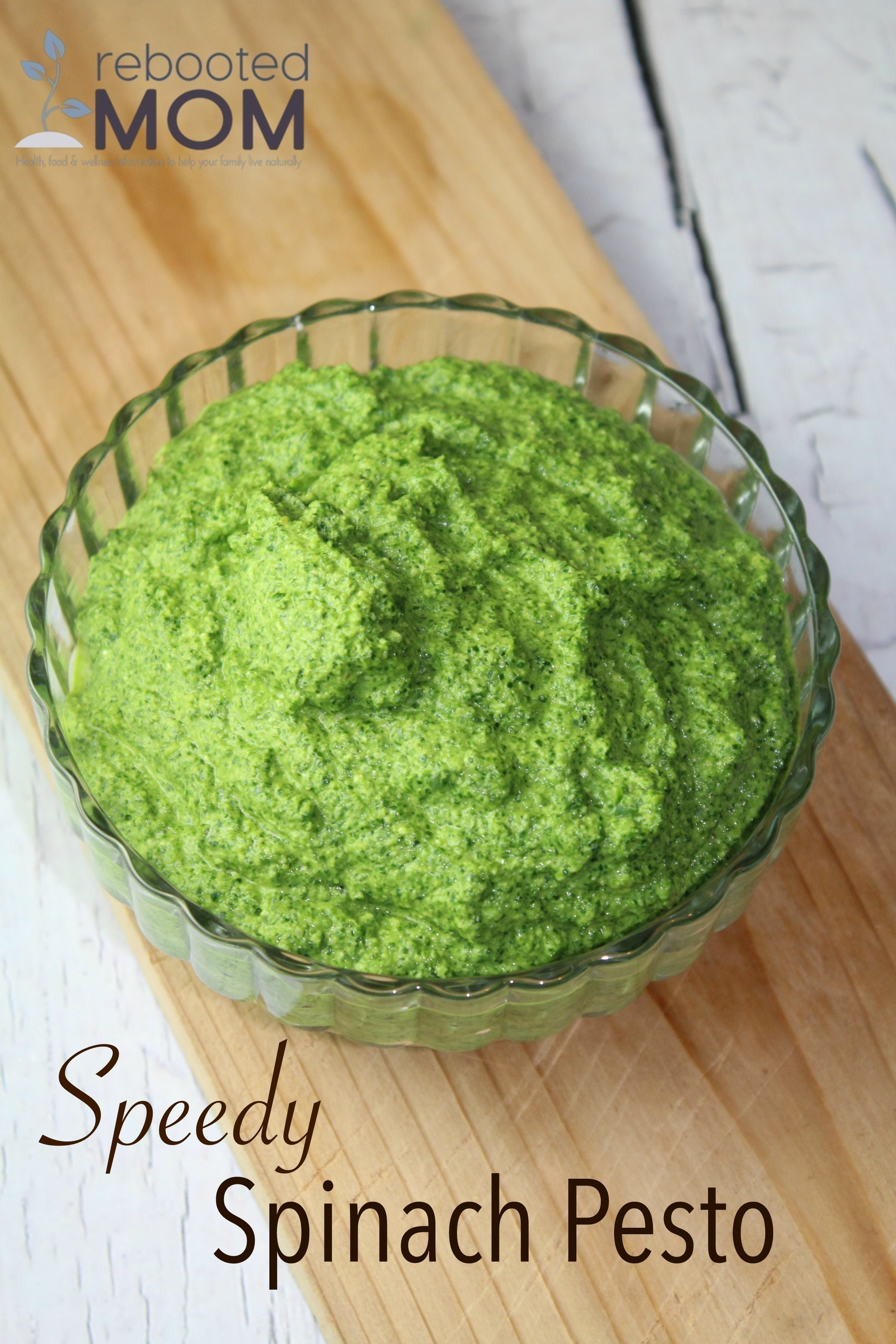 Speedy Spinach Pesto
