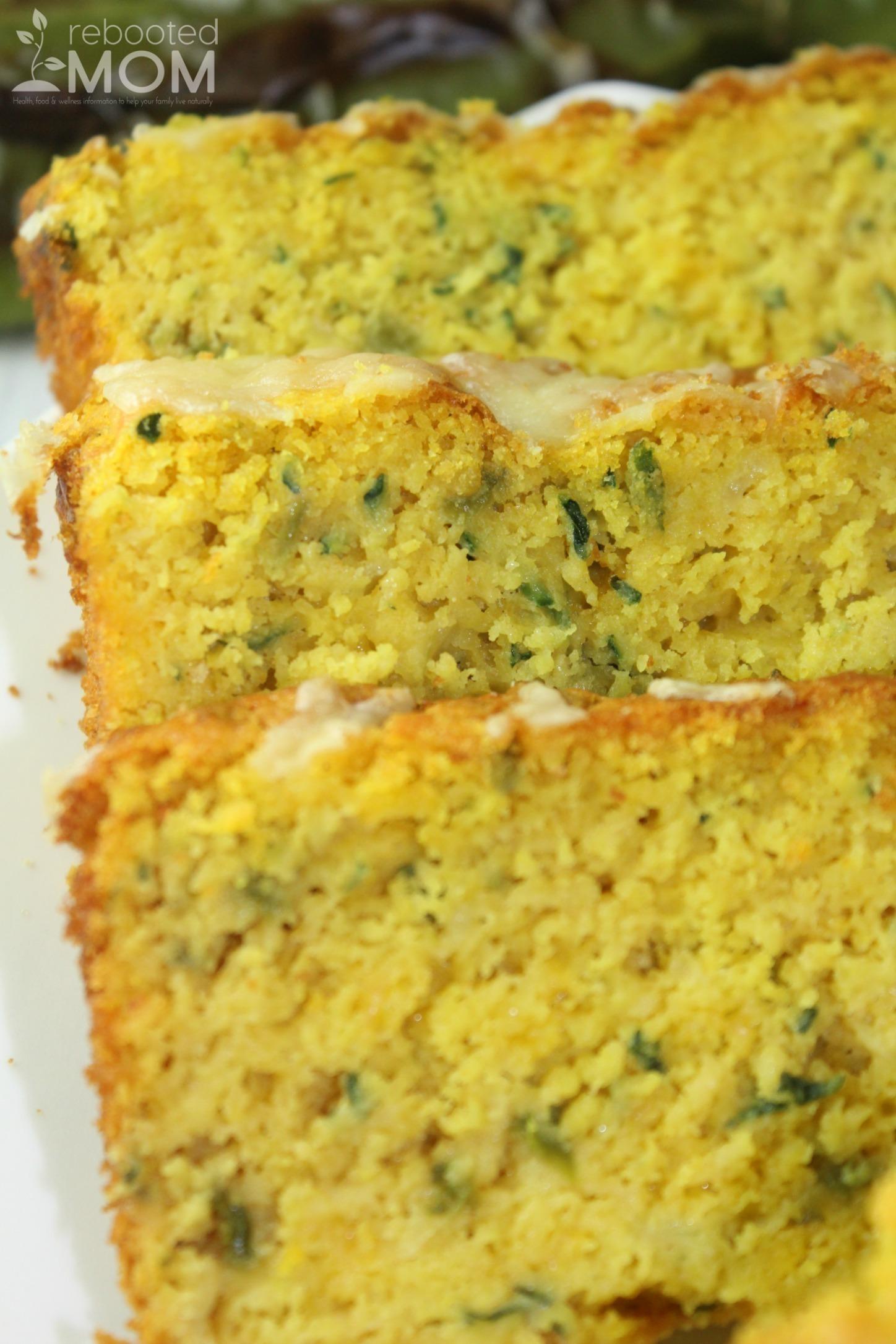 Green Chile Zucchini Cornbread