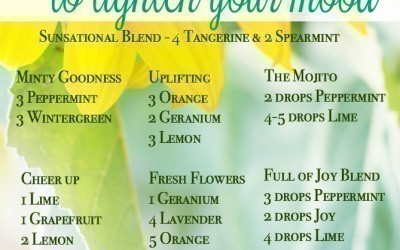 Happy Diffuser Recipe Blends