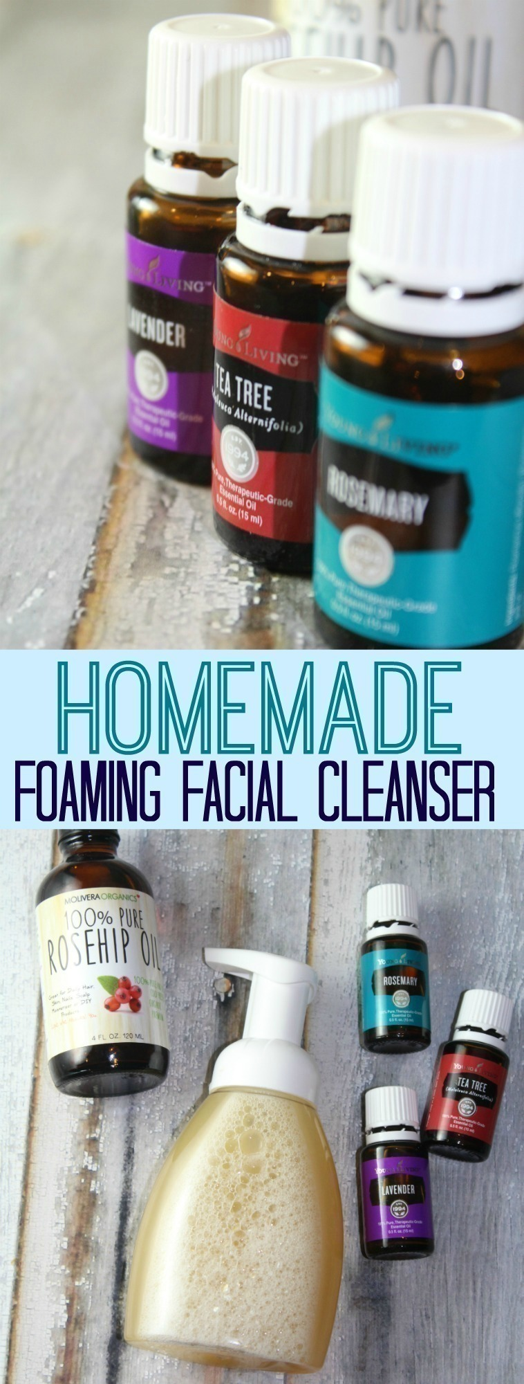 Homemade Foaming Facial Cleanser