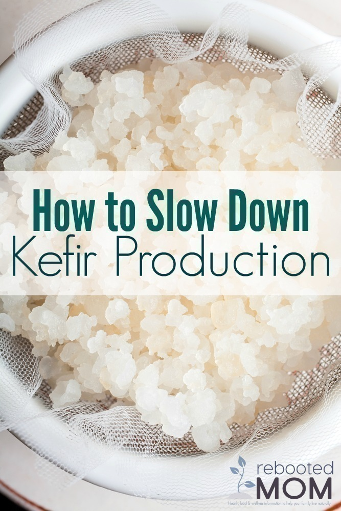 How to Slow Down Kefir Production