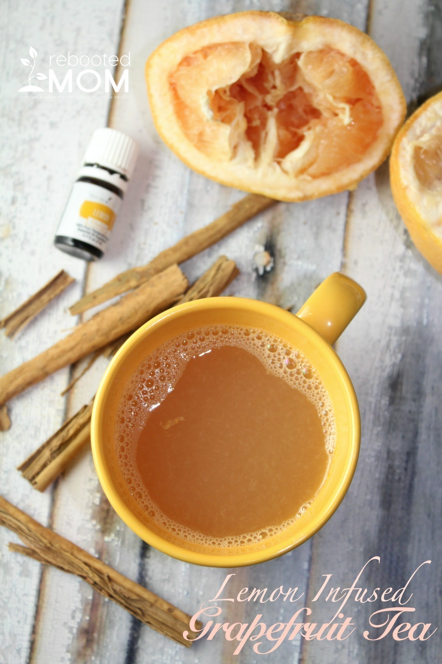 Lemon Infused Grapefruit Tea