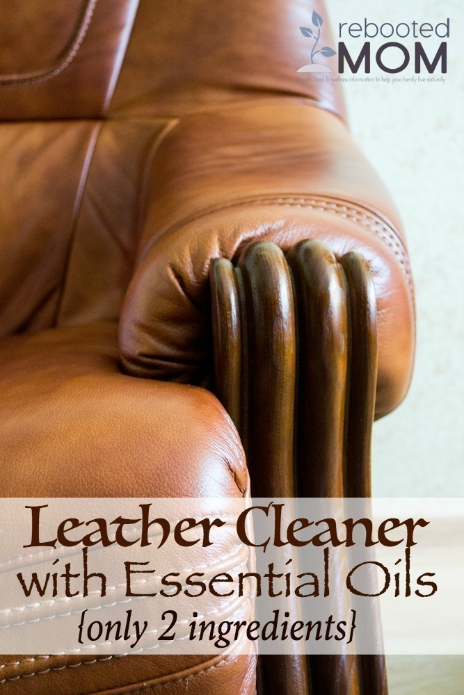 Leather Cleaner with Essential Oils
