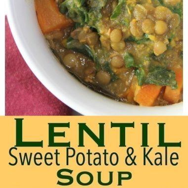 Lentil Sweet Potato Kale Soup