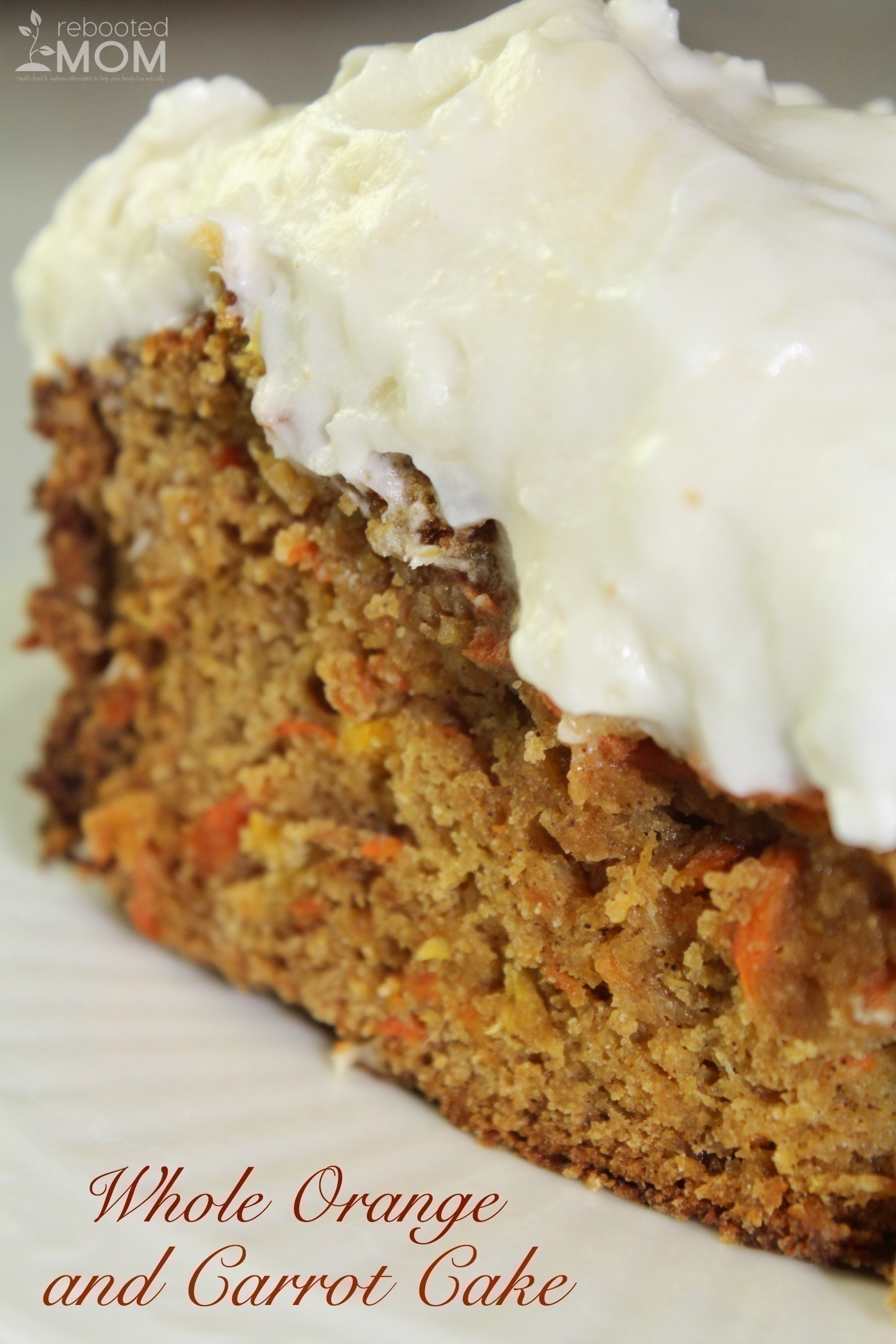 Whole Orange and Carrot Cake