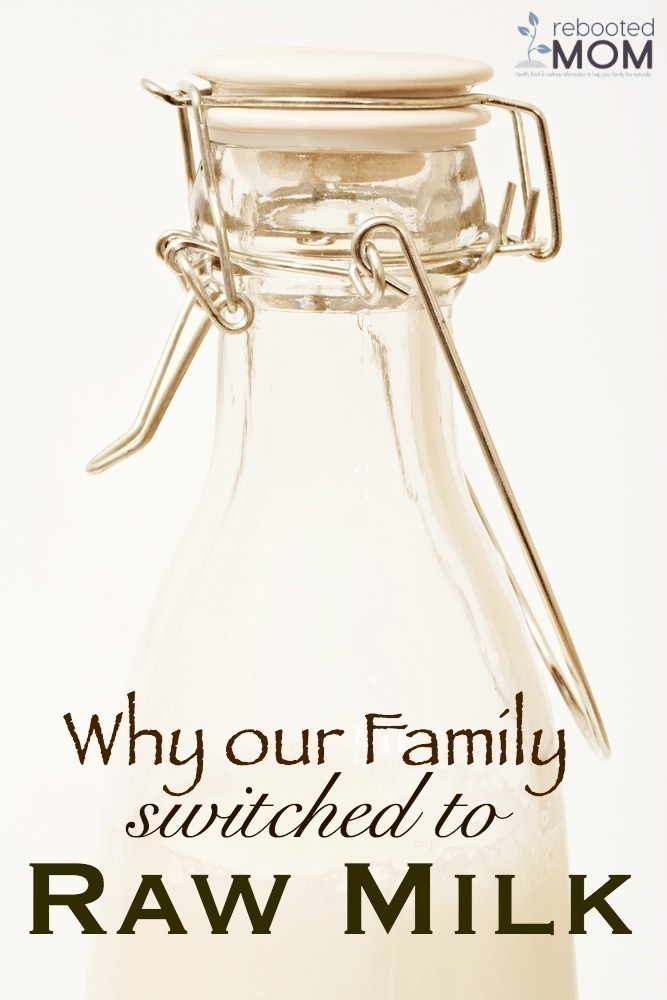 Why our Family Switched to Raw Milk