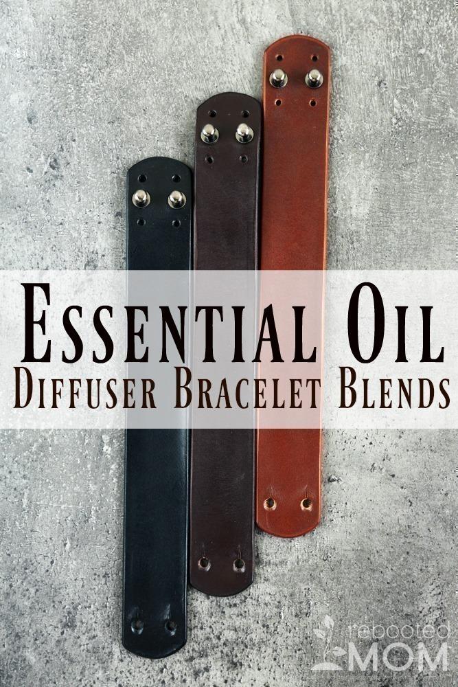 Essential Oil Diffuser Bracelet Blends