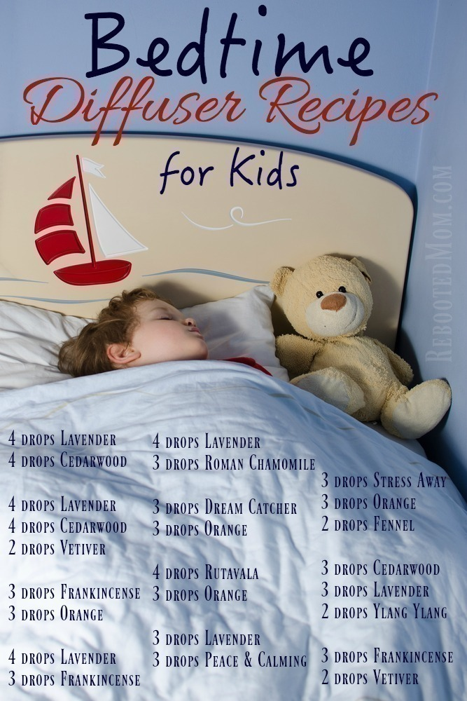 Bedtime Diffuser Recipes for Kids