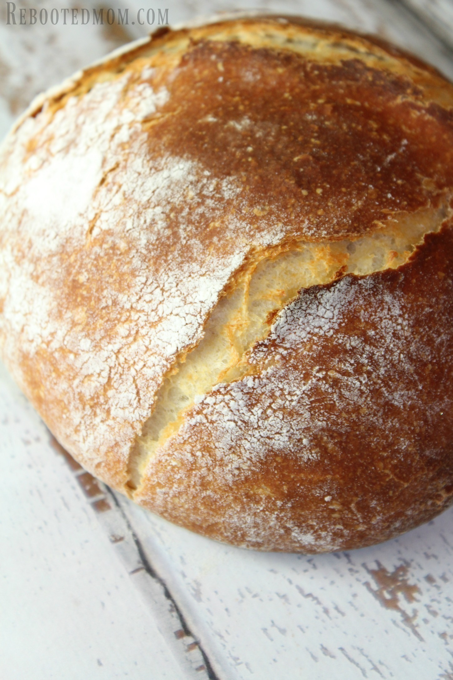 How To Make Cheater Sourdough Bread Rebooted Mom