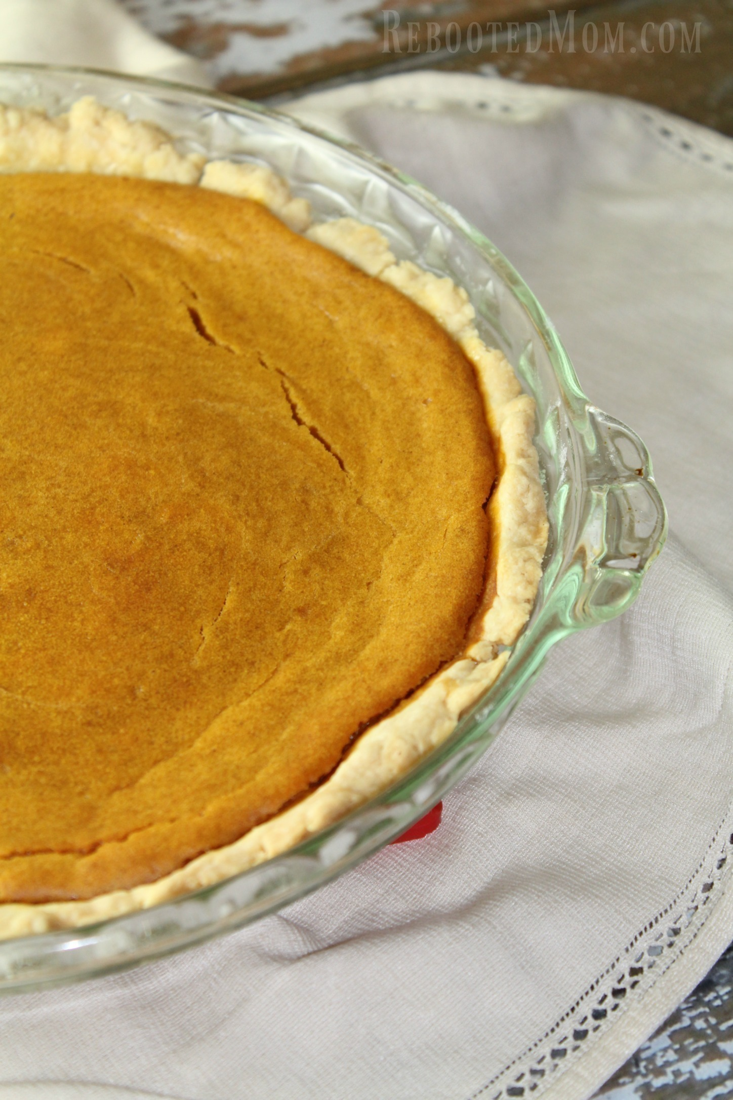 This Coconut Sweet Potato Pie includes maple syrup in lieu of too much sugar, and coconut oil in place of butter - it's absolutely amazing!