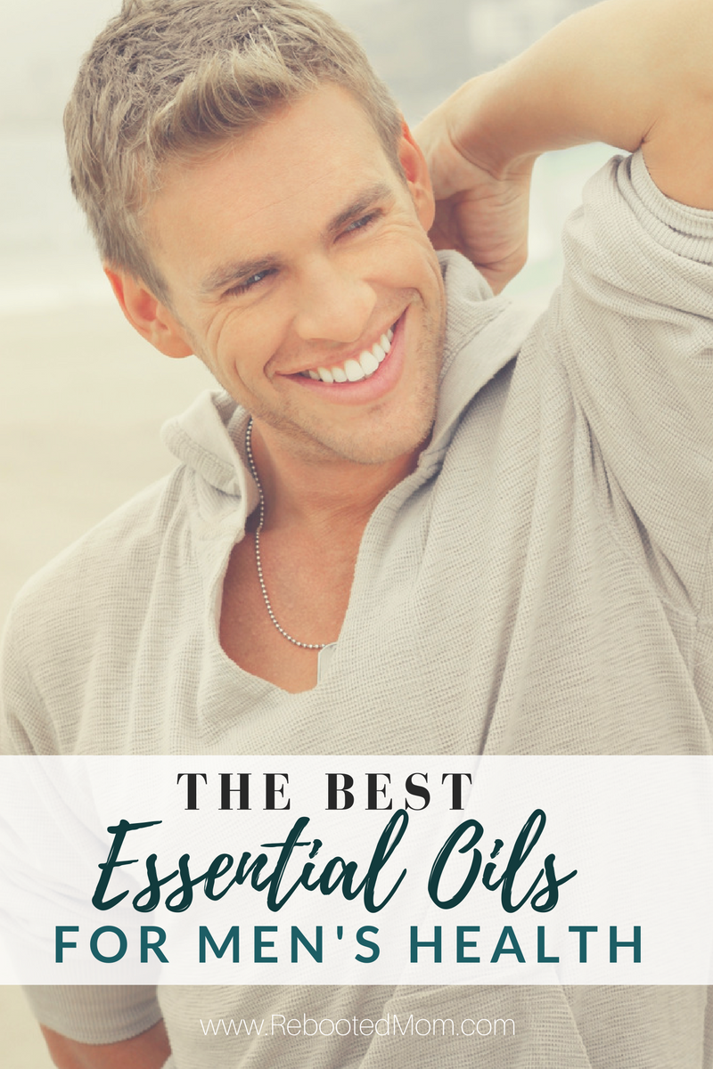 The Best Essential Oils For Men S Health Rebooted Mom