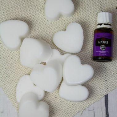Lavender Coconut Oil Bath Melts
