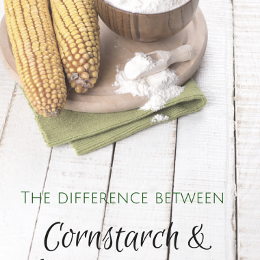 The Difference Between Cornstarch and Arrowroot Powder