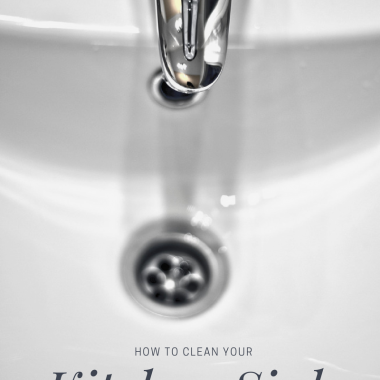 How to Clean your Porcelain Sink