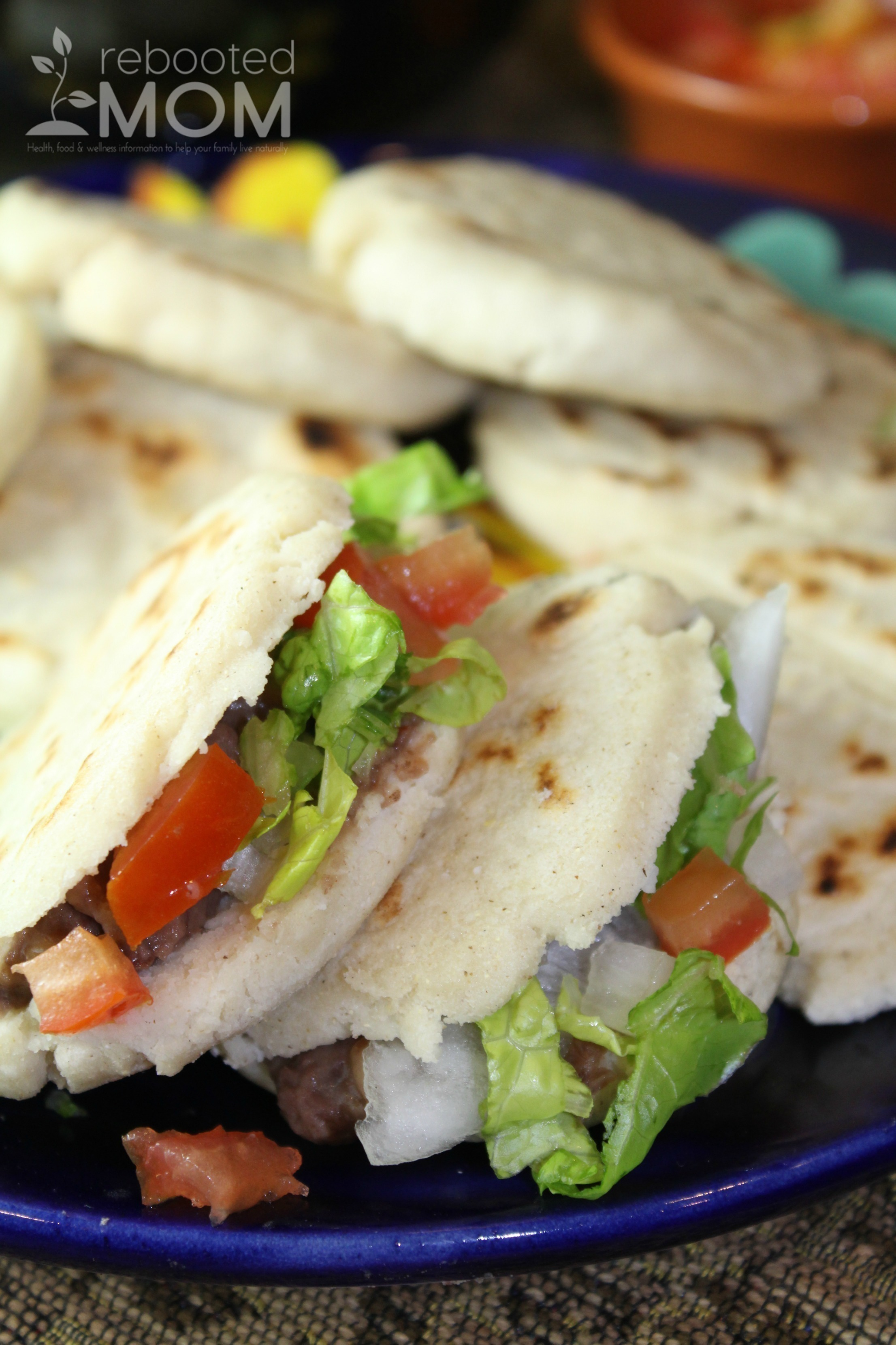 Combine corn flour and water to make a thick taco that you can stuff with refried beans or leftover meat.