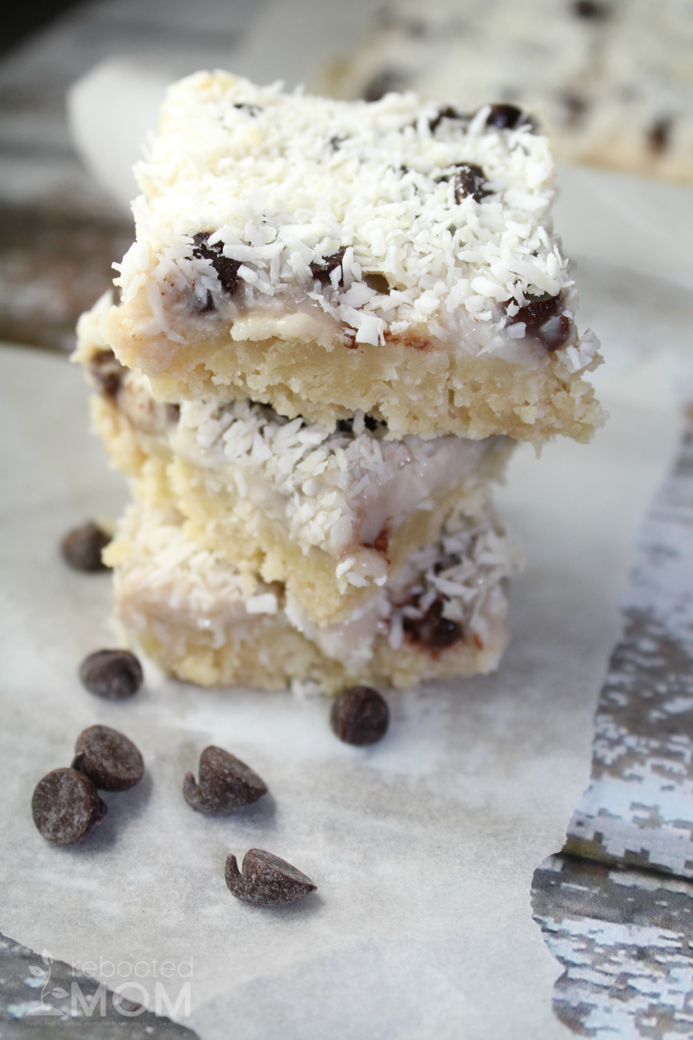 Magic Cookie Bars that are paleo and grain-free - a healthier alternative on a delicious family favorite at the holiday season!
