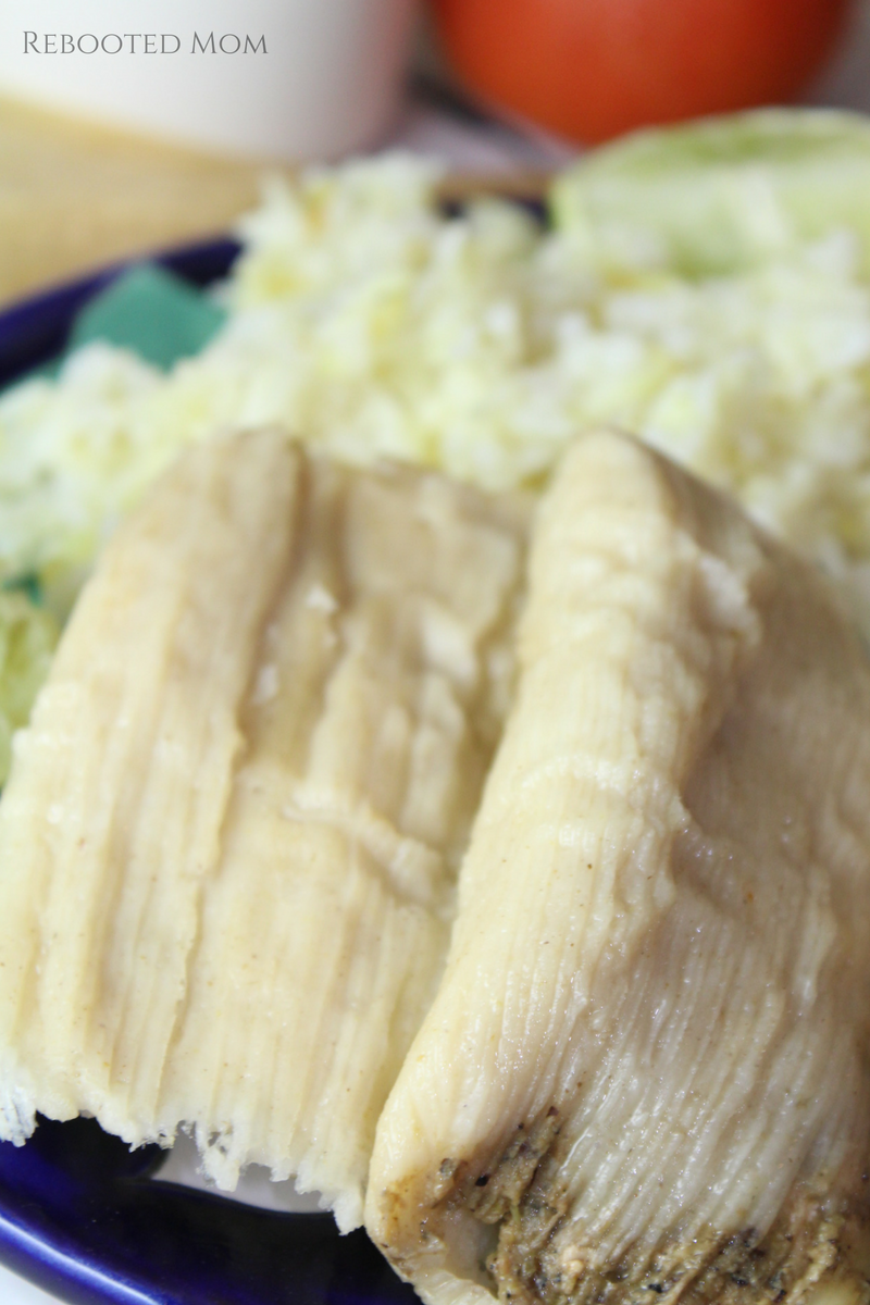 Everyone loves tamales at the holidays! These roasted tomatillo and chicken tamales come together quickly and easily in the Instant Pot!