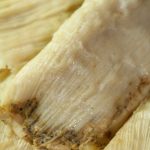 Roasted Tomatillo & Chicken Tamales