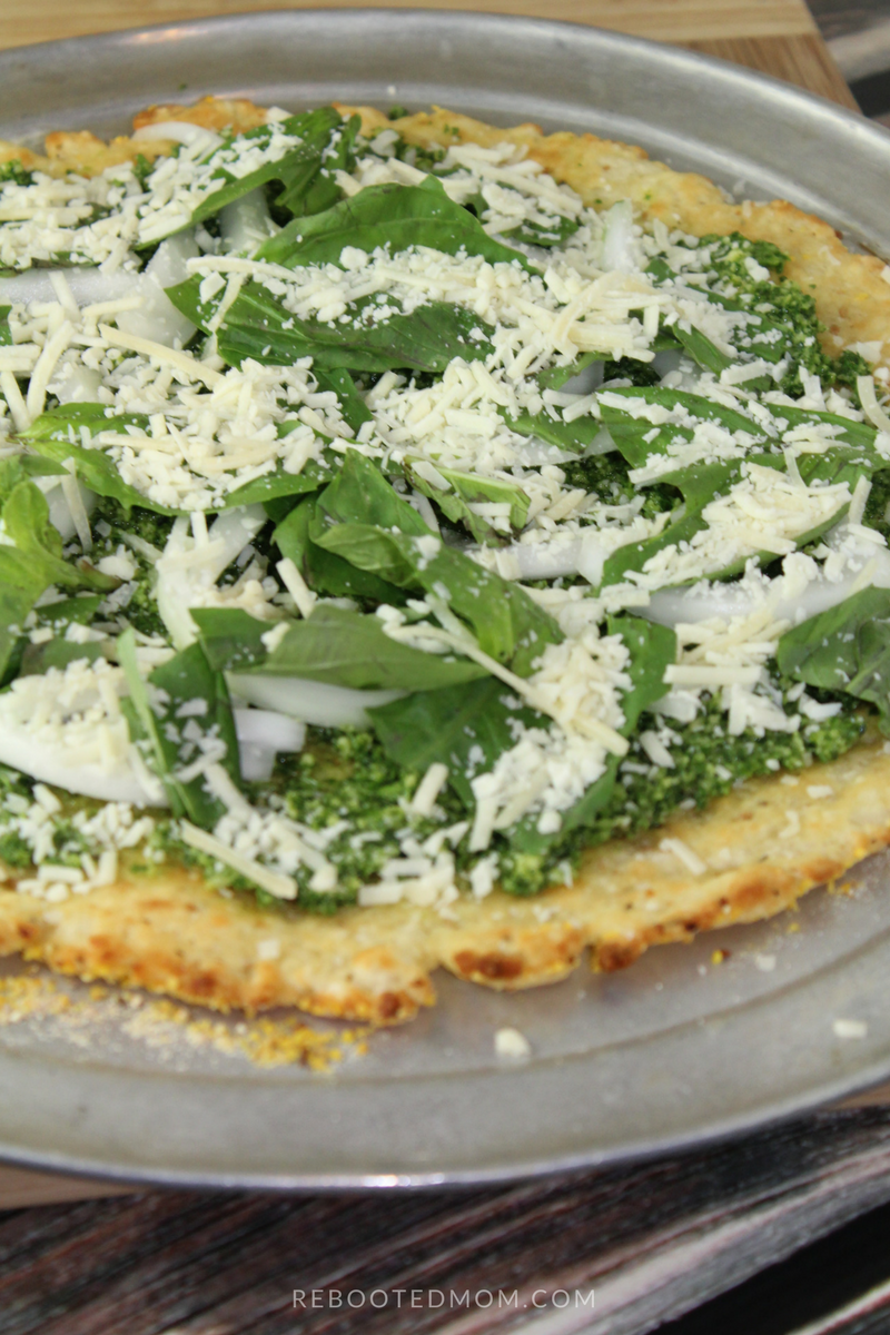 A grain-free, paleo pizza crust recipe that is full of flavor, and incredibly easy to make!