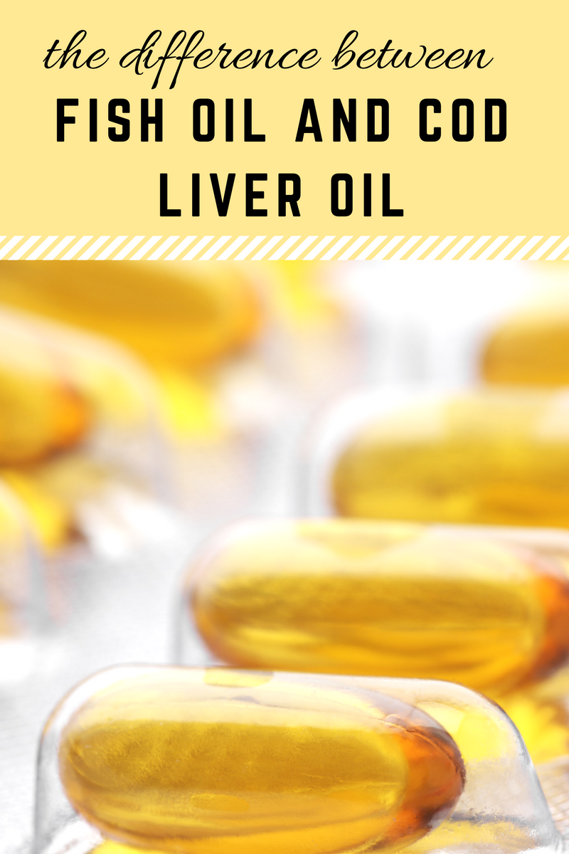 Fish Oil and Cod Liver Oil sound pretty similar - but believe it or not, they are actually quite different.