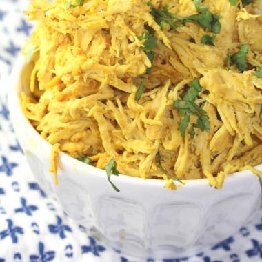 Pulled Tandoori Chicken (Instant Pot)