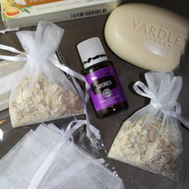 Lavender Infused Bath and Body Pouches