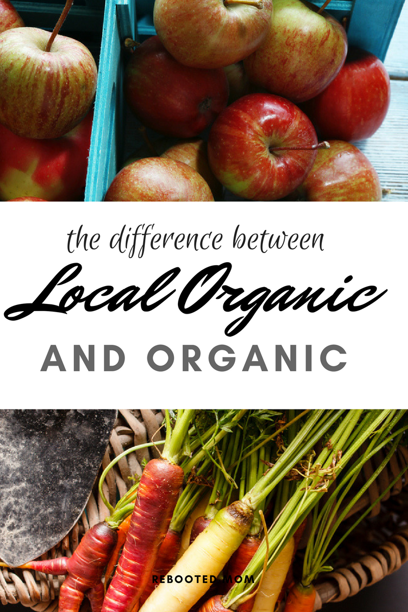 The Difference Between Local Organic and Organic