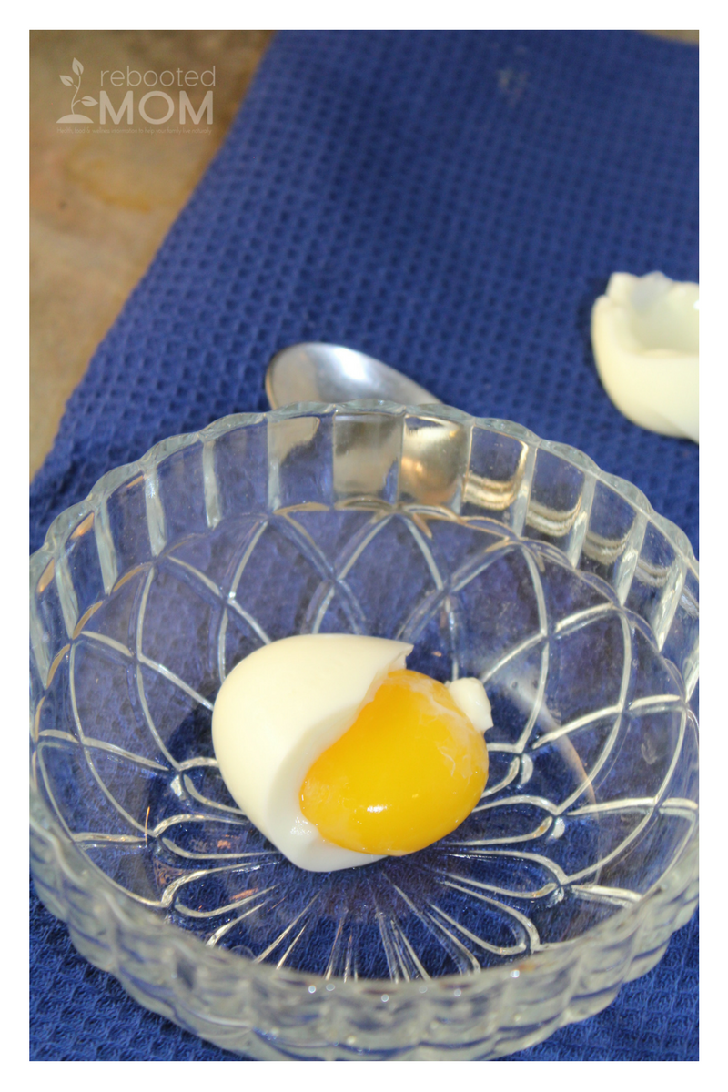 Do you have an Instant Pot?  You can soft boil eggs in just one minute - soft egg yolks are great for little ones who are enjoying their first foods.