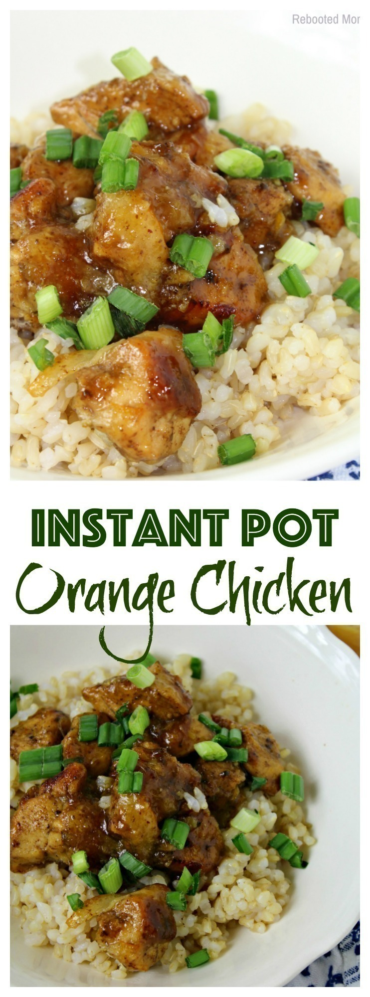 Instant Pot Orange Chicken is healthier than takeout and easy to make using your Instant Pot. Combine simple, fresh ingredients to make this recipe in less than 20 minutes!