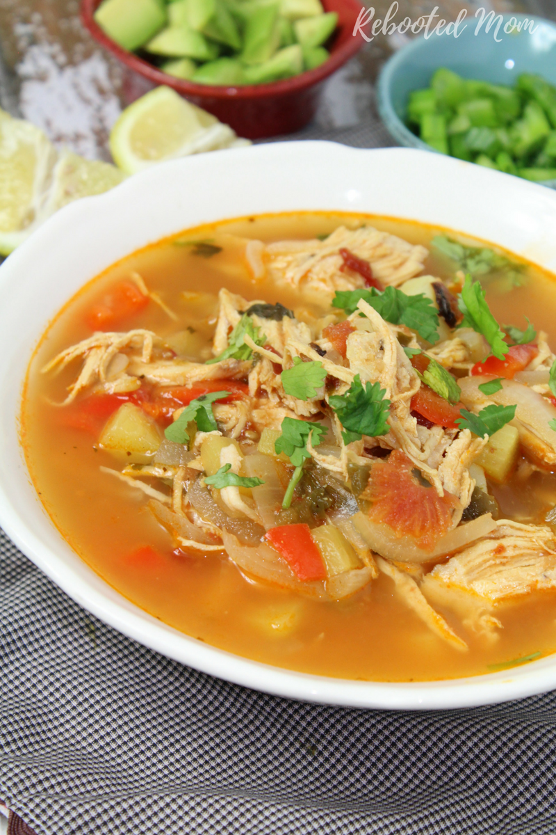 A hearty and filling soup that combines your favorite meat alongside potatoes and chipotle chiles.