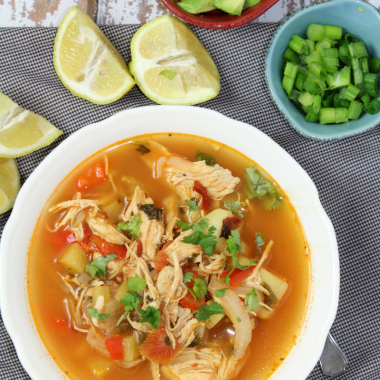 Mexican Chicken and Potato Stew