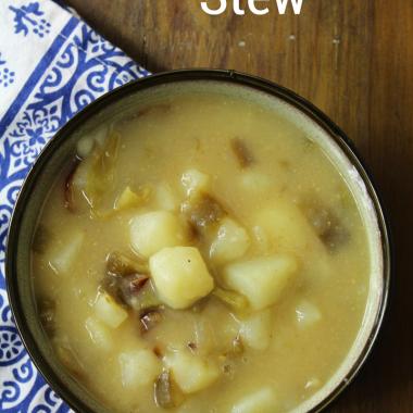 Instant Pot Green Chile & Potato Stew