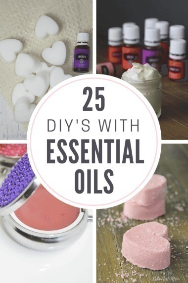 25 DIYs with Essential Oil