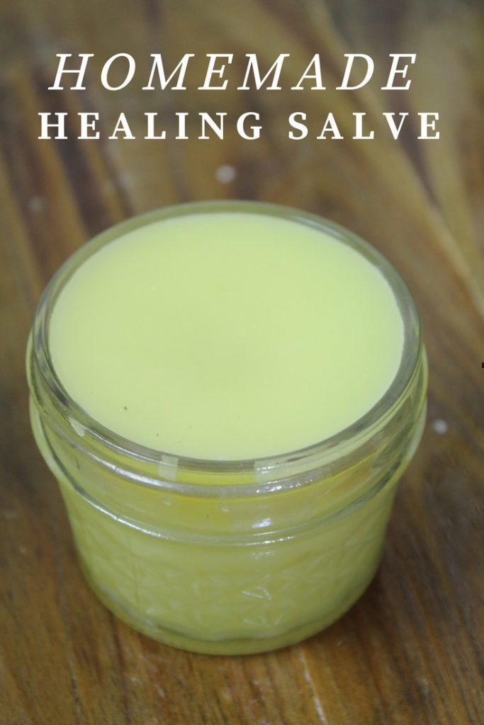 Homemade Healing Salve