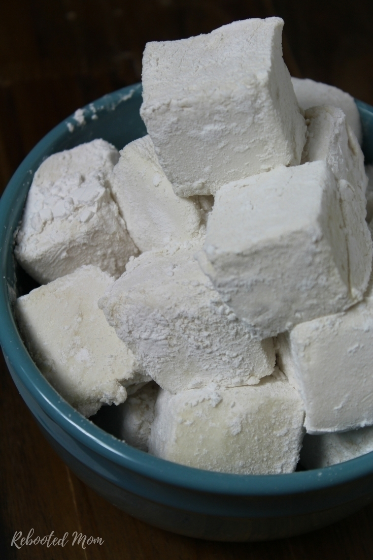 Whip together a few simple ingredients to make big, fluffy marshmallows that are soft & incredibly delicious!