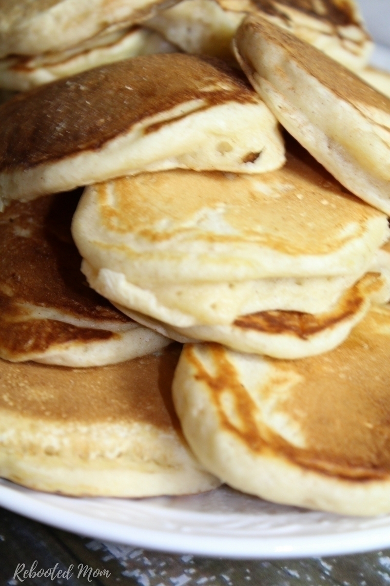 These Homemade Kefir Pancakes are an incredibly easy way to use up extra kefir - they cook up light and fluffy and are wonderful for a healthy gut!