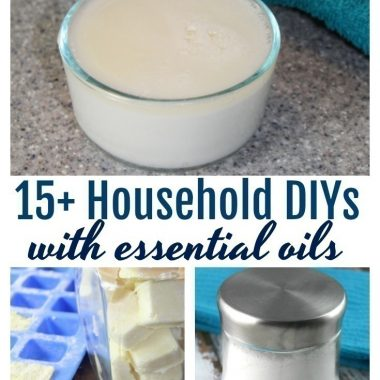 16 Essential Oil DIY's for Home and Garden