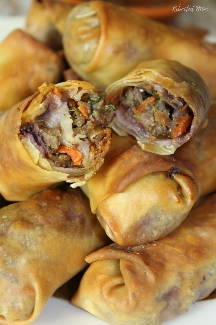 These easy baked egg rolls are a great way to use up an abundance of veggies, and are an incredible and healthier alternative to the traditional fried egg roll.