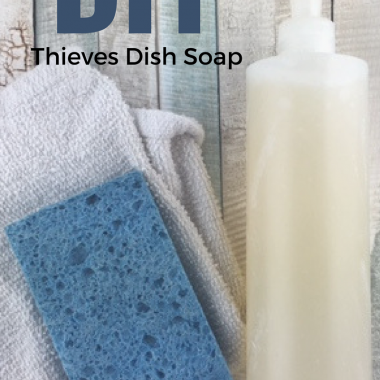 How to Make Non-Toxic Dish Soap