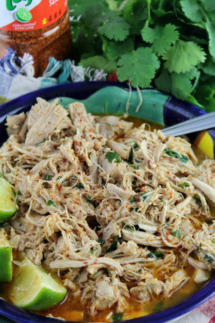 Shredded chicken marries with fresh lime and chile, and bathe in a sea of spices to create a flavorful filling for tacos, burritos and more.