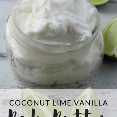 Coconut Lime Vanilla Body Butter
