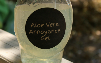 Long hot summers spent outside don't have to be agonizing - ward off annoyances with this easy Annoyance Free Outdoor Aloe Vera Gel.
