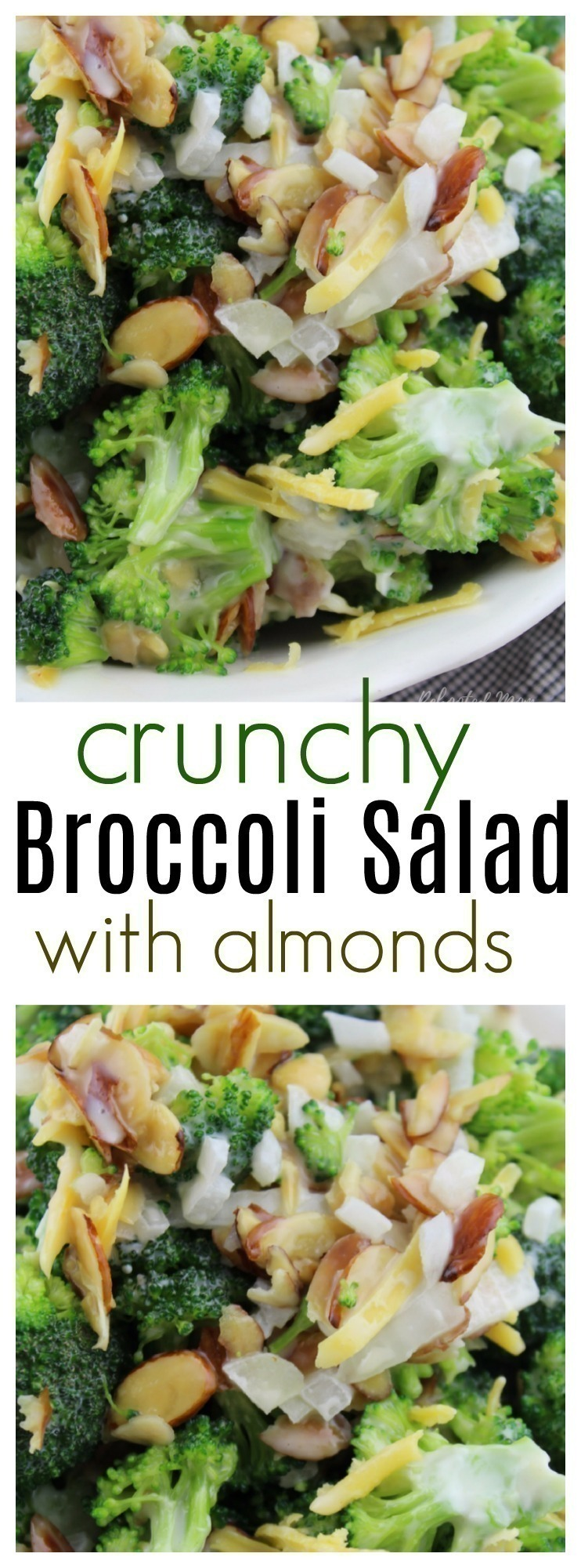 Whip together this healthy broccoli salad in just minutes with a few simple ingredients. It's not only easy, it's incredibly delicious!