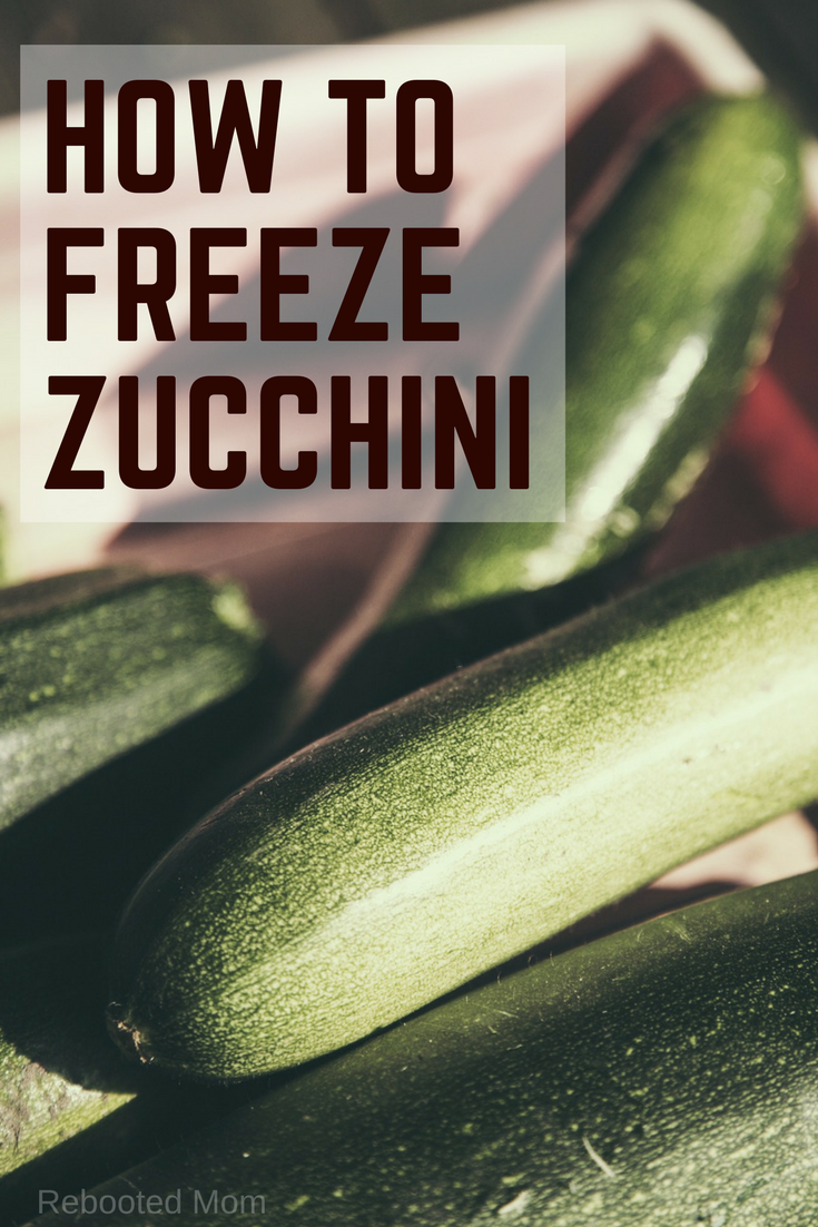 Learning how to freeze zucchini, whether chopped, shredded or cubed, is a wonderful way to preserve a bumper crop of this wonderful vegetable.